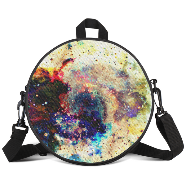 Lucien Psychedelic Round Rave Bag
