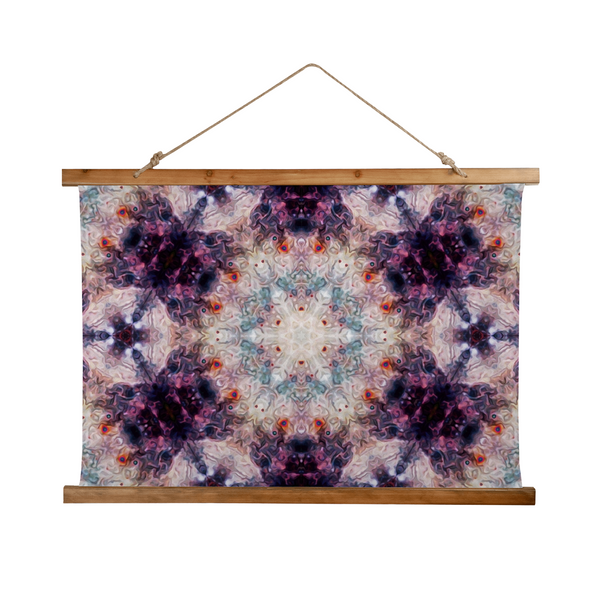 Medusa Psychedelic Wooden Hanging Wall Tapestry