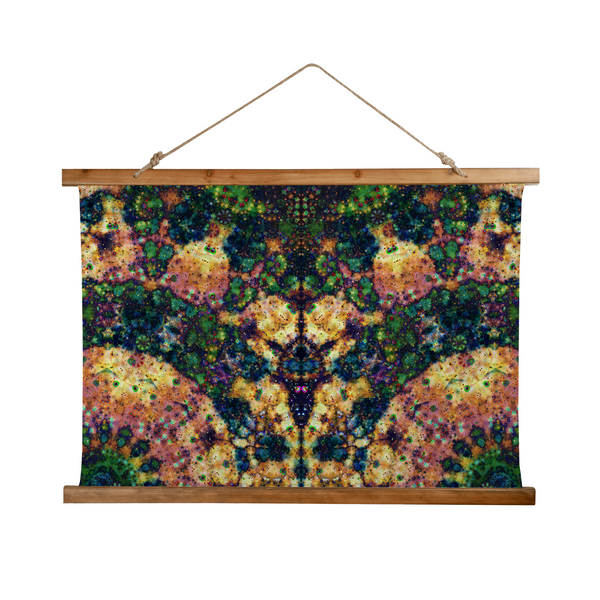 Venus Psychedelic Wooden Hanging Wall Tapestry