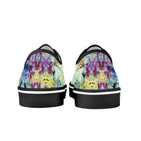 Conscious Psychedelic Split-Style Skate Shoes