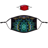 Ceres Psychedelic Flip-Sequin Face Mask