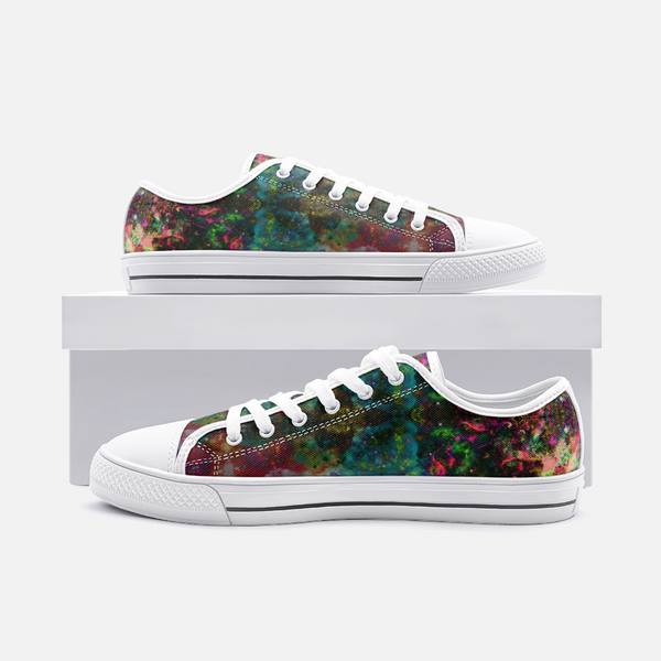 Lucid Psychedelic Canvas Low-Tops