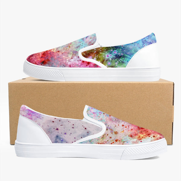 July Psychedelic Slip-On Skate Shoes
