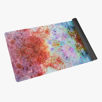 July Psychedelic Suede Anti-Slip Yoga Mat
