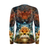 Sylas Psychedelic Women's Long Sleeve (Jersey Knit) - Heady & Handmade