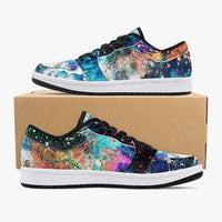 Acquiesce Apothos Psychedelic Split-Style Low-Top Sneakers