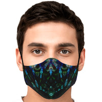 Azule Psychedelic Adjustable Face Mask (Quantity Discount)