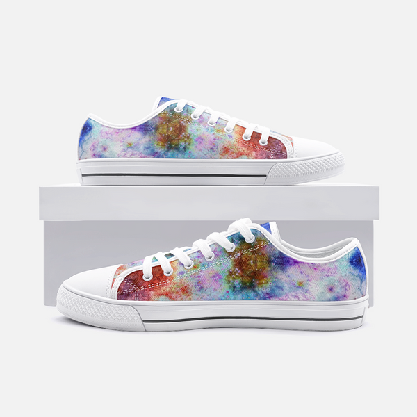 July Psychedelic Canvas Low-Tops