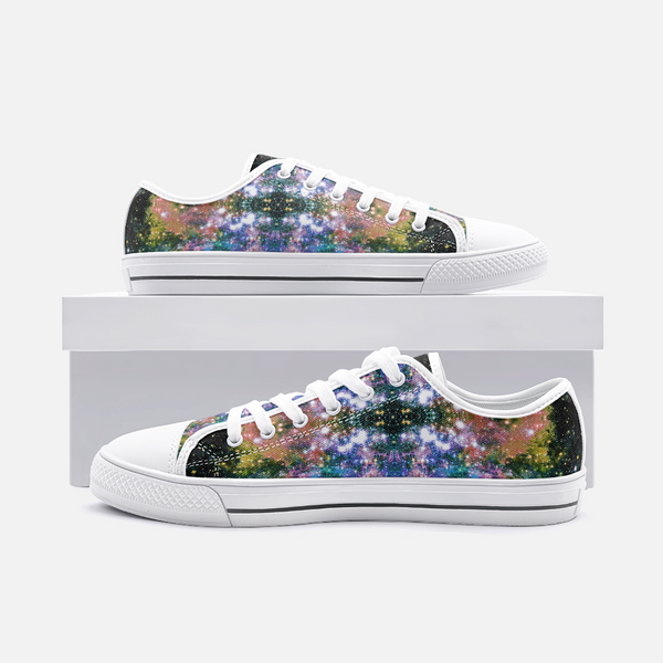 Ekhi Psychedelic Canvas Low-Tops