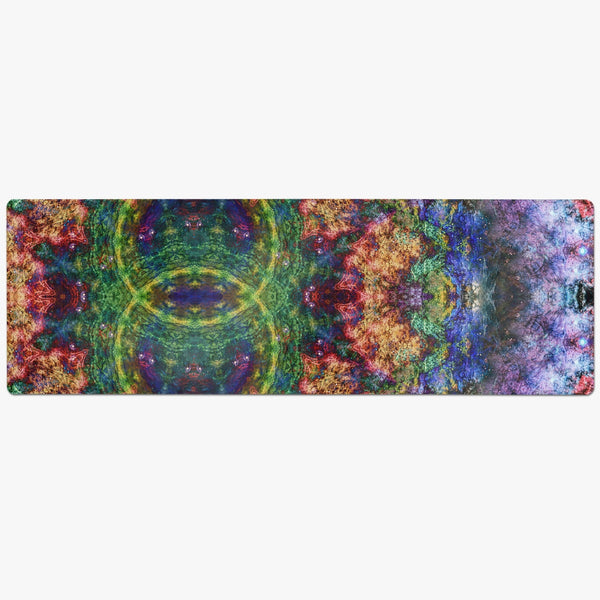 Starflow Psychedelic Suede Anti-Slip Yoga Mat