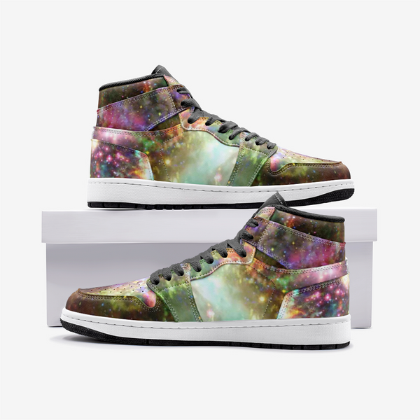 Ilstaag Psychedelic Full-Style High-Top Sneakers