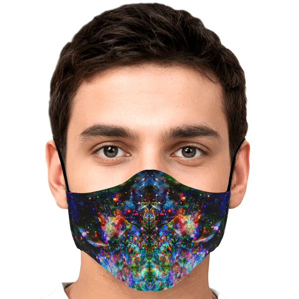 Oriarch Crown Psychedelic Adjustable Face Mask (Quantity Discount)