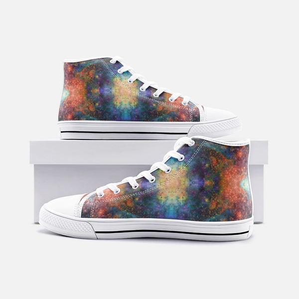 Fortuna Psychedelic Canvas High-Tops