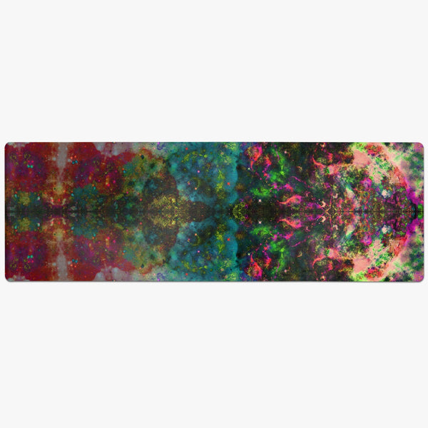 Lucid Psychedelic Suede Anti-Slip Yoga Mat
