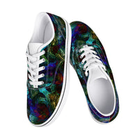 Azule Psychedelic Split-Style Skate Shoes