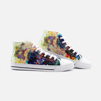 Lucien Psychedelic Canvas High-Tops