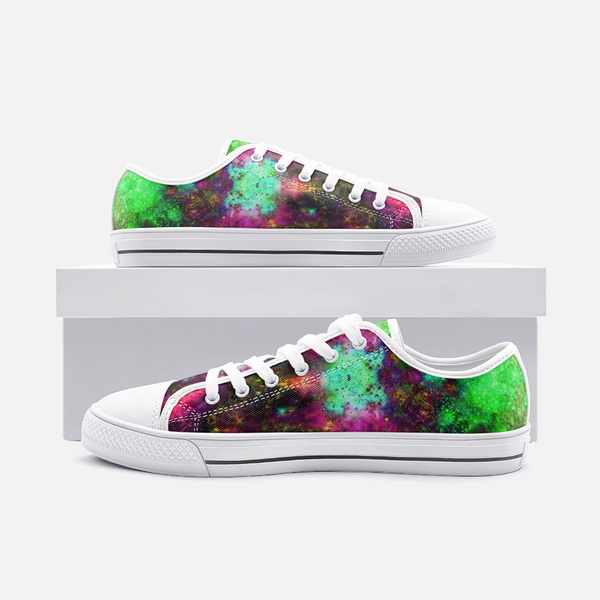 Lilith Psychedelic Canvas Low-Tops
