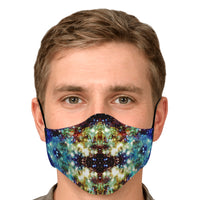 Valhalla Psychedelic Adjustable Face Mask (Quantity Discount)