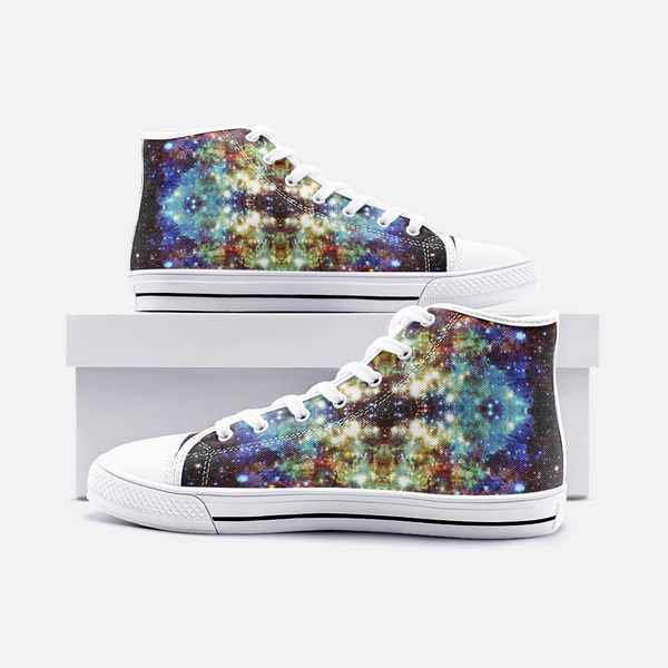Valhalla Psychedelic Canvas High-Tops
