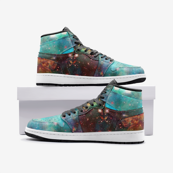 Archon Psychedelic Full-Style High-Top Sneakers