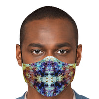 Regail Psychedelic Adjustable Face Mask (Quantity Discount)