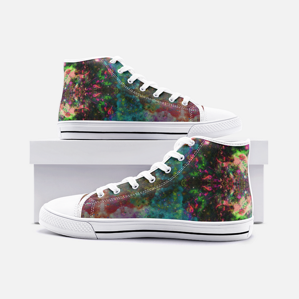 Lucid Psychedelic Canvas High-Tops