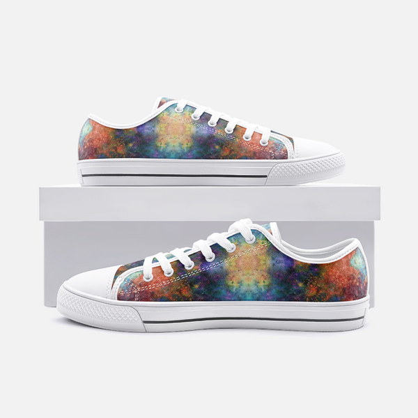 Fortuna Psychedelic Canvas Low-Tops