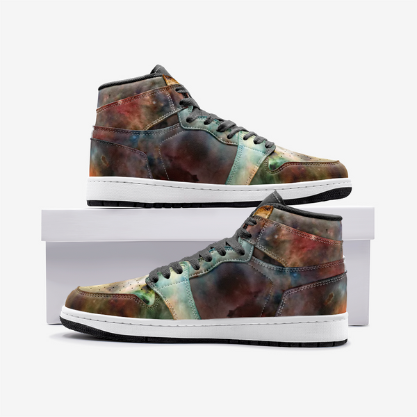 Sylas Psychedelic Full-Style High-Top Sneakers