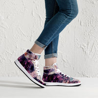 Medusa Psychedelic Split-Style High-Top Sneakers