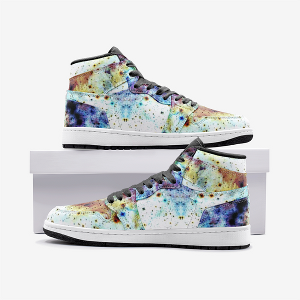 Regail Psychedelic Full-Style High-Top Sneakers