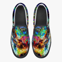 Apoc Psychedelic Slip-On Skate Shoes