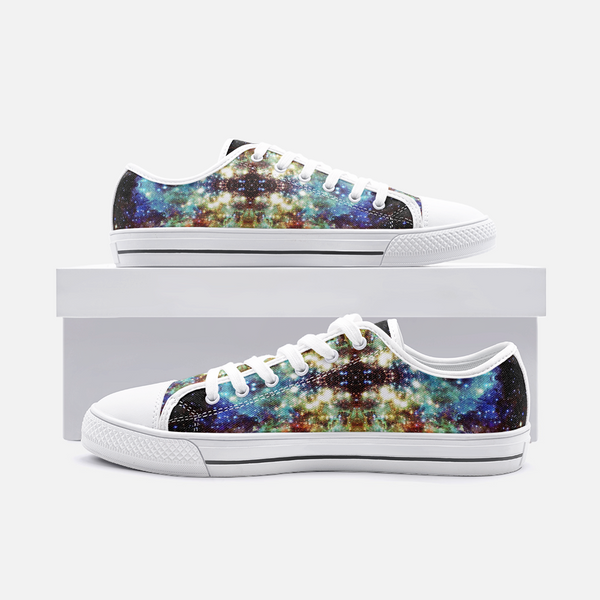 Valhalla Psychedelic Canvas Low-Tops