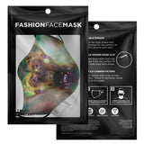 Ursus Lyren Psychedelic Adjustable Face Mask (Quantity Discount)