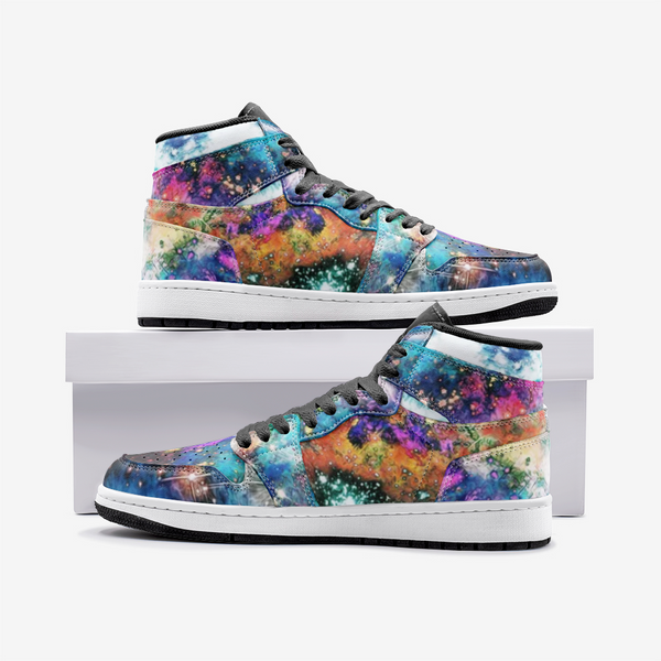 Acquiesce Apothos Psychedelic Full-Style High-Top Sneakers