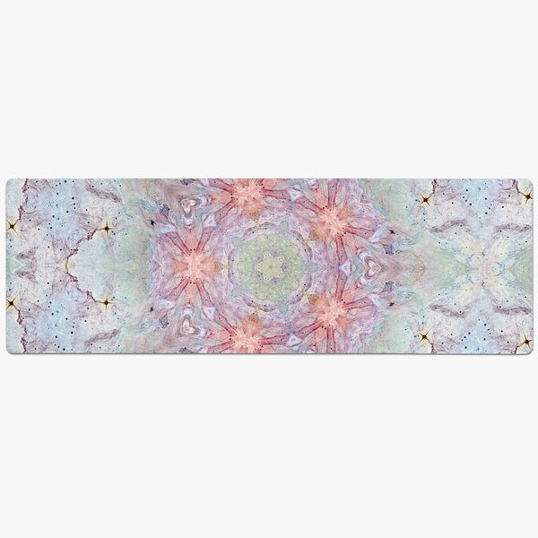 Aphrodite Psychedelic Suede Anti-Slip Yoga Mat