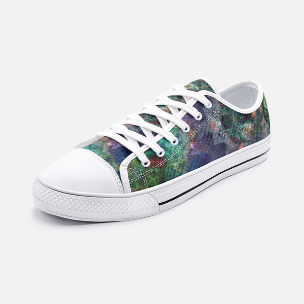 Valendrin Psychedelic Canvas Low-Tops