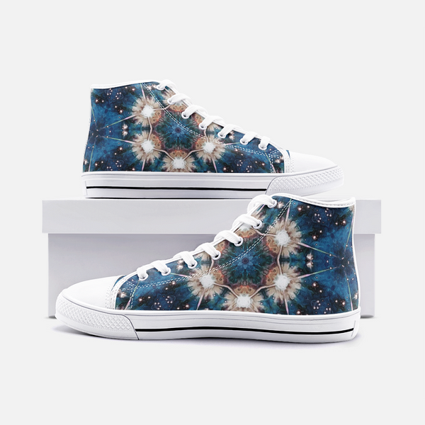 Beacon Psychedelic Canvas High-Tops