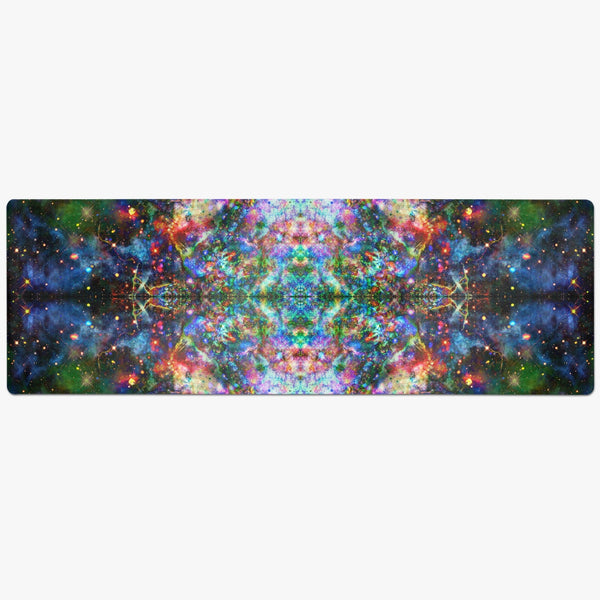 Oriarch Psychedelic Suede Anti-Slip Yoga Mat