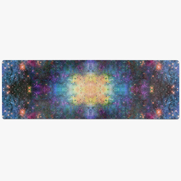 Fortuna Psychedelic Suede Anti-Slip Yoga Mat