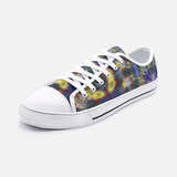 Nox Glow Psychedelic Canvas Low-Tops
