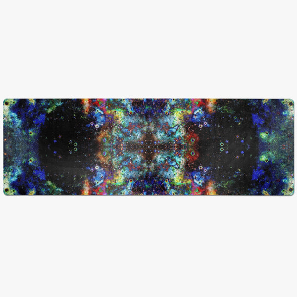 Apoc Psychedelic Suede Anti-Slip Yoga Mat