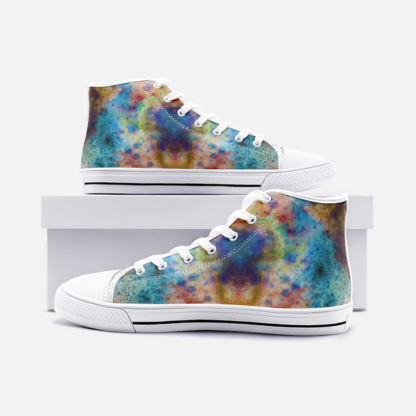 Acquiesce Nightshade Psychedelic Canvas High-Tops