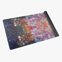 Niari's Shadow Psychedelic Suede Anti-Slip Yoga Mat