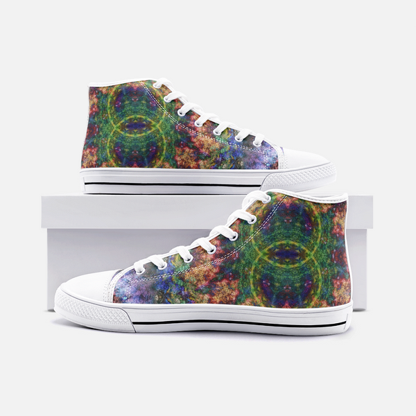 Starflow Psychedelic Canvas High-Tops
