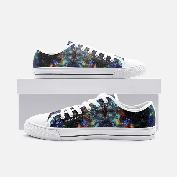 Apoc Psychedelic Canvas Low-Tops