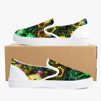 Xerxes Psychedelic Slip-On Skate Shoes