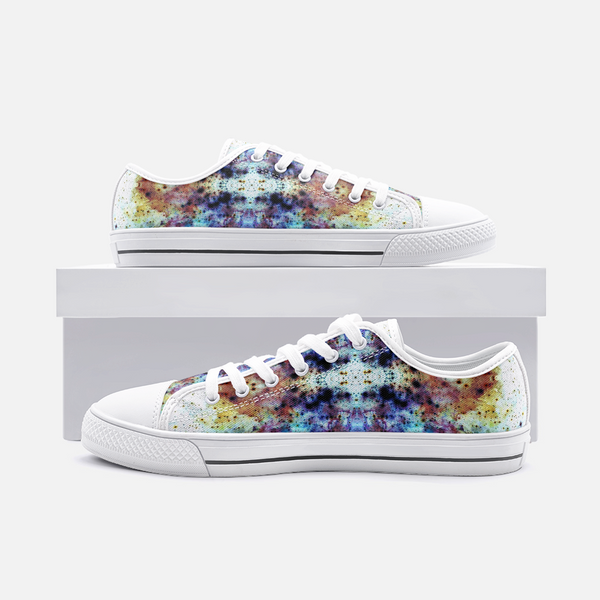Regail Psychedelic Canvas Low-Tops