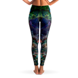 Valendrin Psychedelic Mesh Pocket Leggings