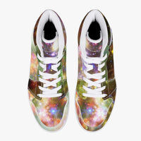Ilstaag Psychedelic Split-Style High-Top Sneakers