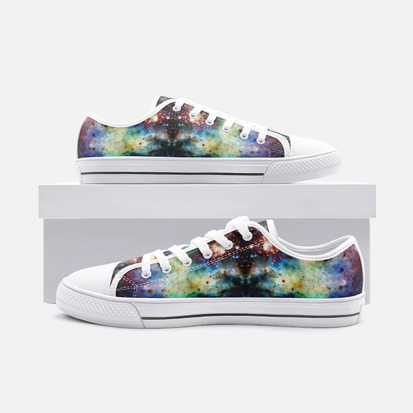 Ishtar Psychedelic Canvas Low-Tops